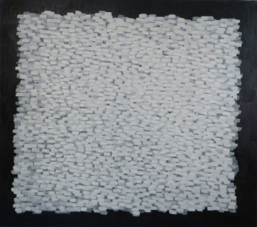 White Elements (2), 2011, oil on canvas, 60 x 68 inches