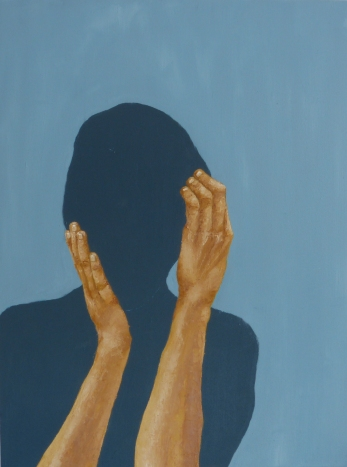 The Intimate Moment (10), 2013, oil on canvas, 24 x 18 inches