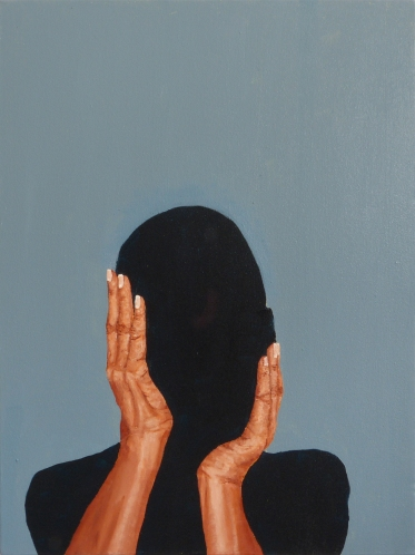 The Intimate Moment (16), 2014, oil on canvas, 24 x 18 inches