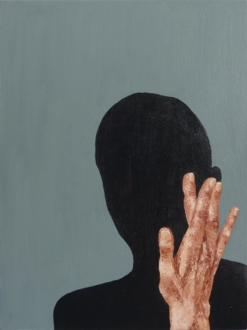 The Intimate Moment (3), 2012, oil on canvas, 24 x 18 inches
