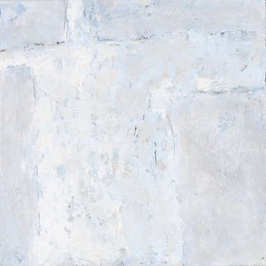 Crossing (4), 2008, oil on canvas, 16 x 16 inches