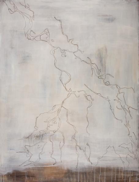 Wolga, 2007, acrylic on canvas, 170 x 130 cm (sold)