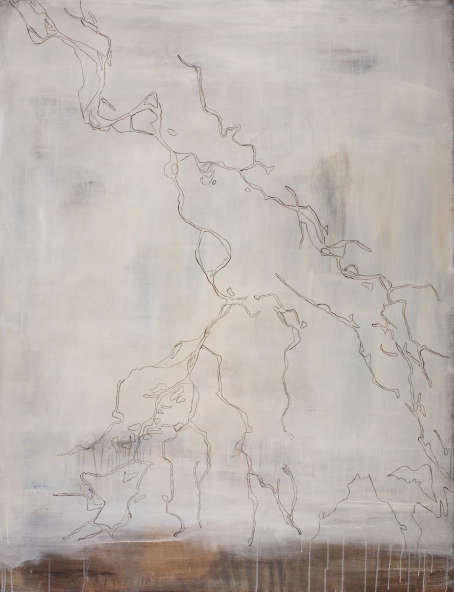 Wolga, 2007, acrylic on canvas, 170 x 130 cm (sold)