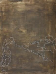 Donau, 2007, acrylic on canvas, 170 x 130 cm (sold)