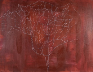 Nil, 2006, acrylic on canvas, 100 x 130 cm (sold)