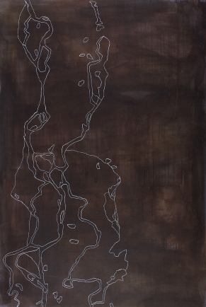 Wolga II, 2007, acrylic on canvas, 120 x 80 cm (sold)