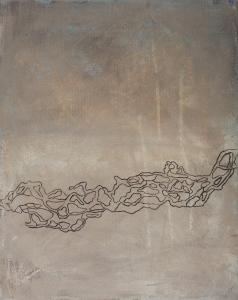 Brahmaputra, 2007, acrylic on canvas, 37 x 29 cm