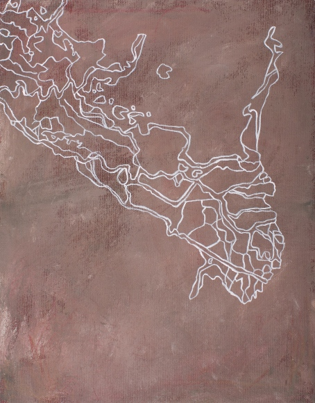 Parana, 2007, acrylic on canvas, 37 x 29 cm (sold)