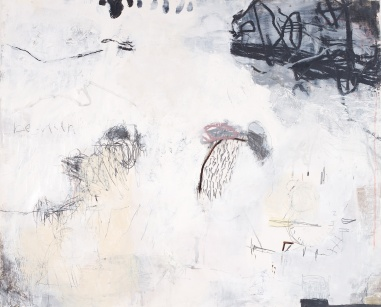 Between Timezones, 2008, mixed media on paper, 39 x 48 inches