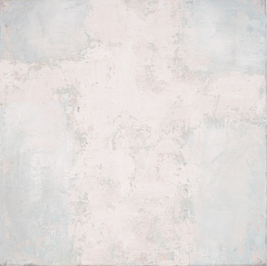 Crossing (19), 2008, oil on canvas, 16 x 16 inches