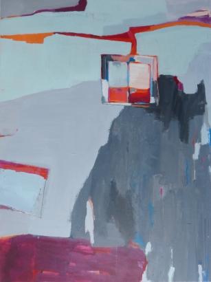 Aiming High (Nagasaki), 2019, acrylic on canvas, 40 x 30 inches (available at Hang Art)
